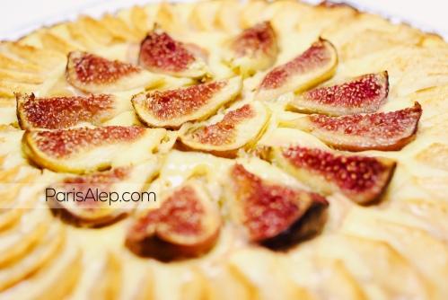 Tarte normande pommes figues