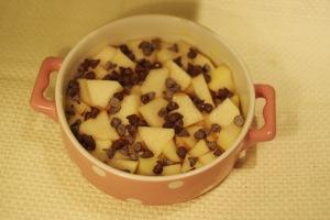 crumble poires chocolat