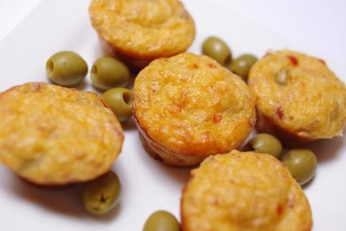 Recette Mini Cake Au Thon Et Olives