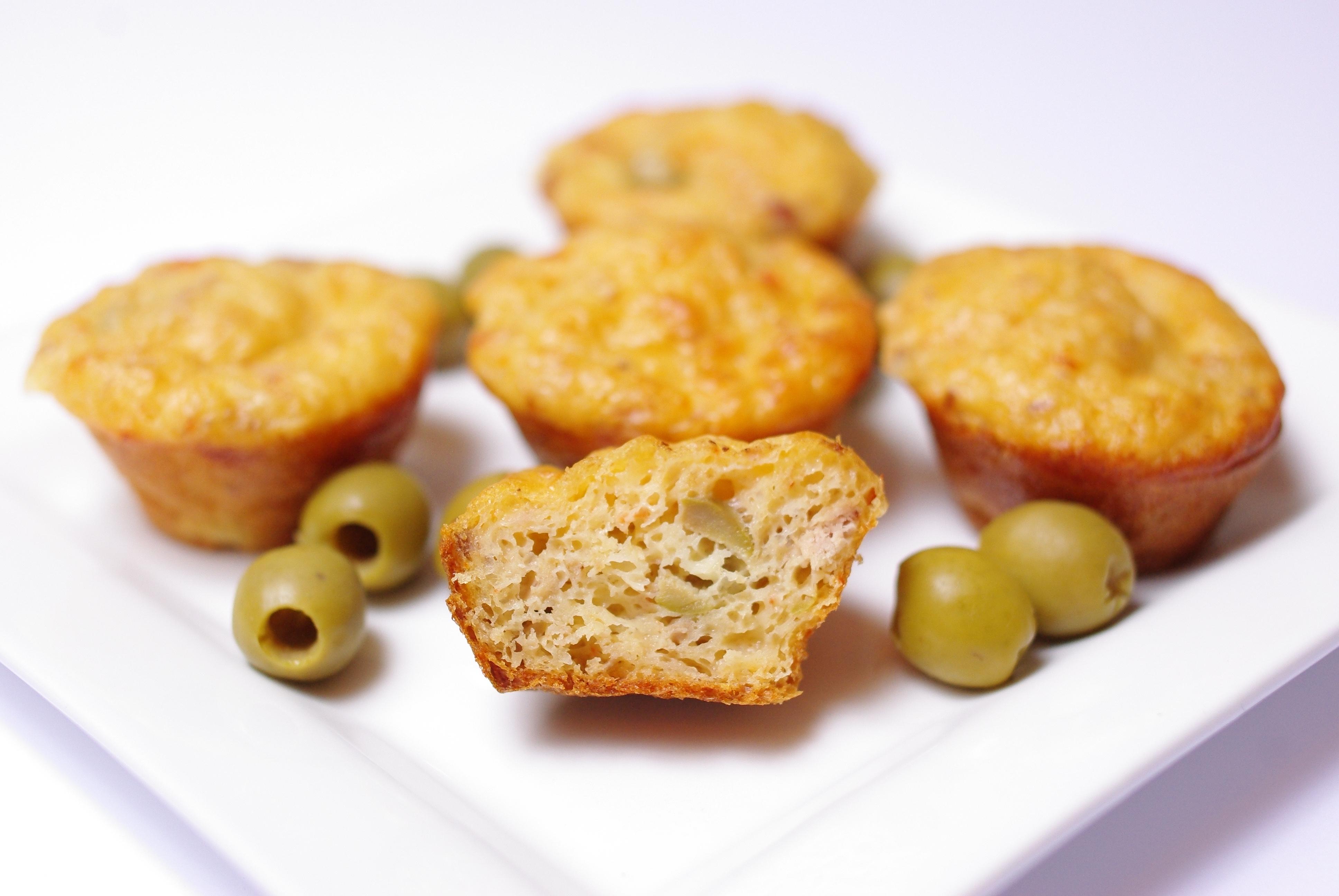 Mini Cakes Thon Olives