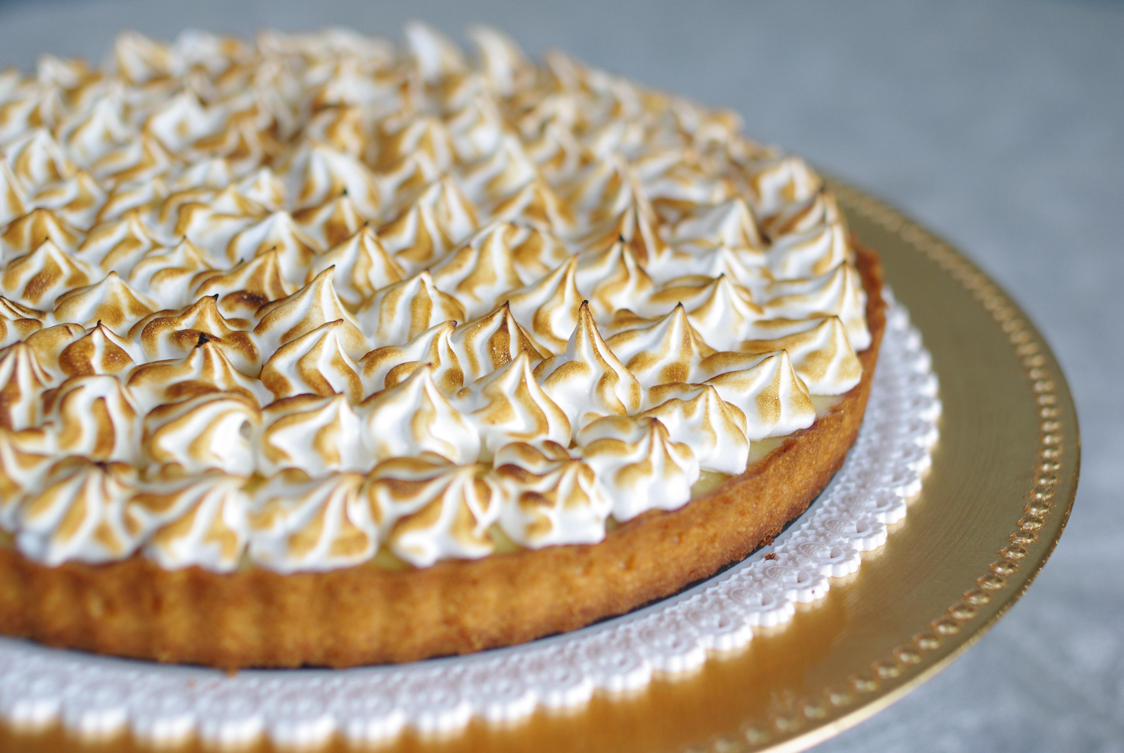 Camille kitchen la tarte au citron meringu e de marabout chef - Tarte au citron meringuee facile ...