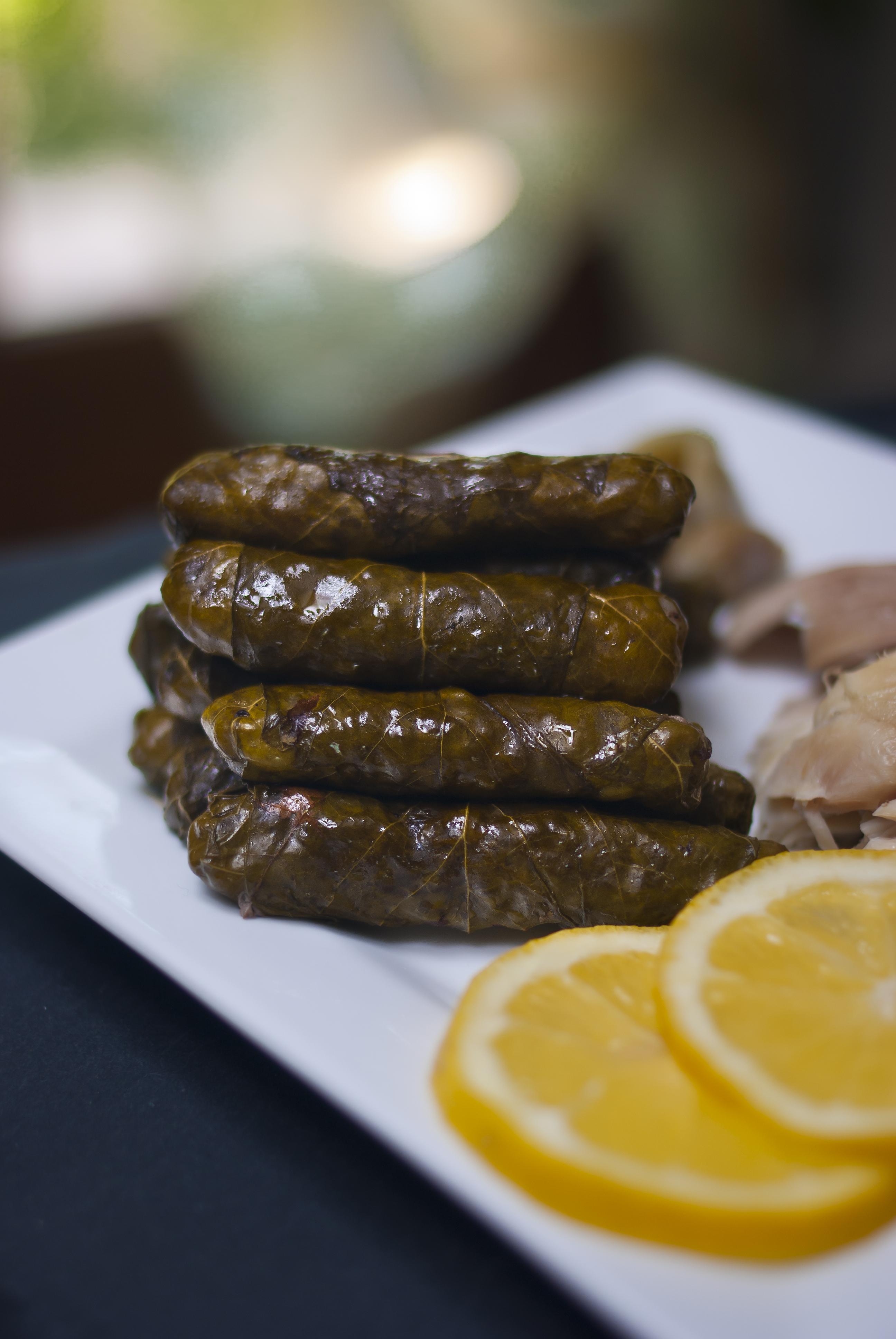 Yabraq Feuilles De Vigne Farcies Paris Alep Cuisine