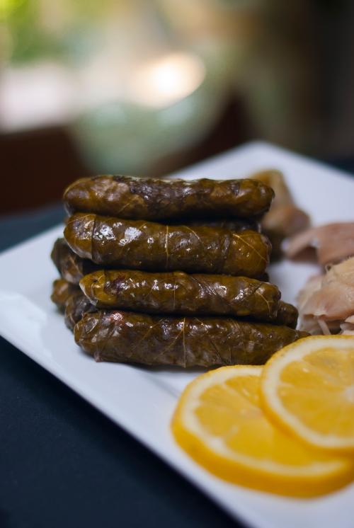 Yabraq feuilles de vigne farcies paris alep cuisine syrienne - Deglacer en cuisine signifie ...