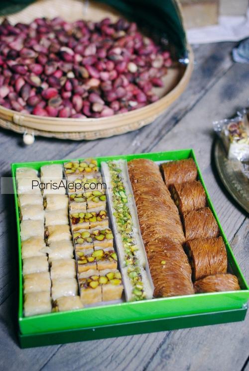 helou pârtisseries syriennes pistaches