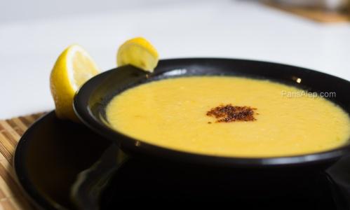 3adss b7amod soupe de lentilles corail