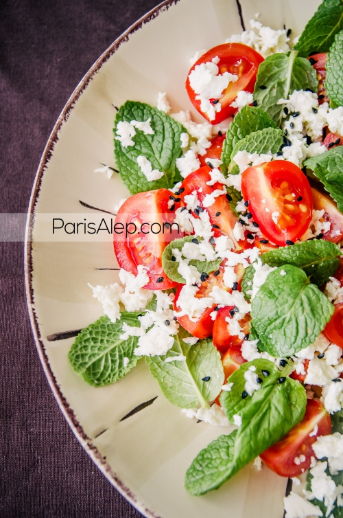 salade syrie
