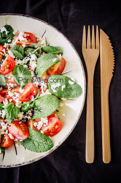 salade tomates menthe jebné