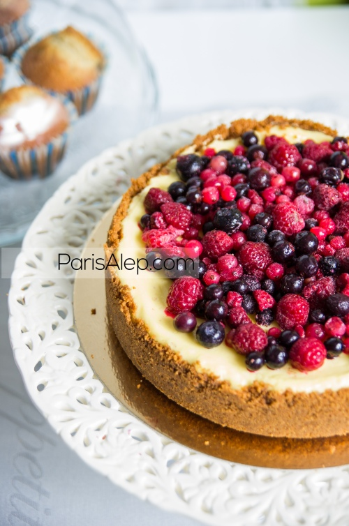 cheescake fruits rouges