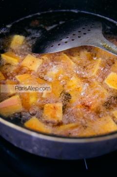 friture potiron