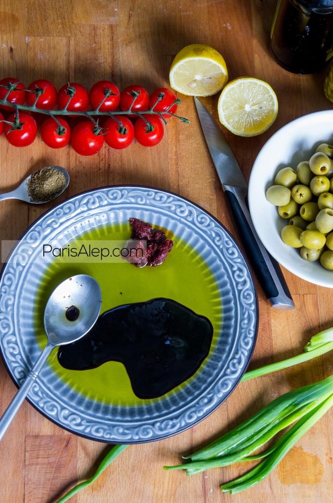 salade olives