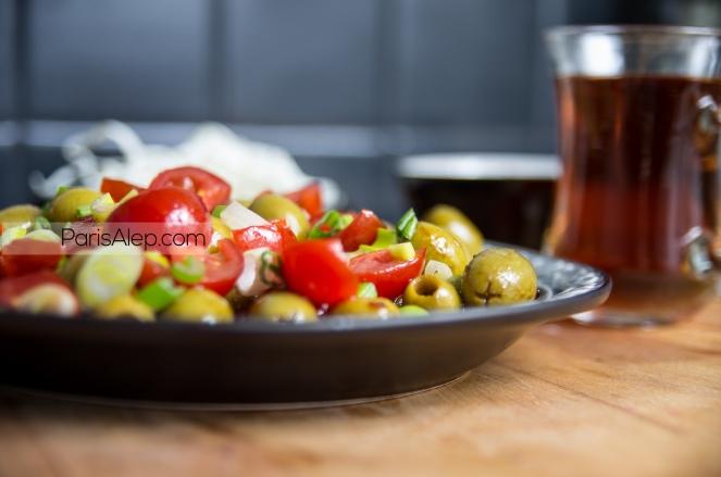 salade olives Alep