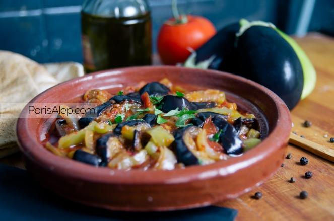 Makmour aubergines